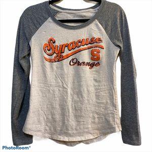 Syracuse Orange Women's Size Small LS T-Shirt